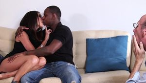 Dava Foxx Cuckold You Can Sit There And Watch - Dava Foxx
