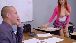 Big Tits at School - (Skyla Novea, Sean Lawless) - Skyla Hates Studying - Brazzers