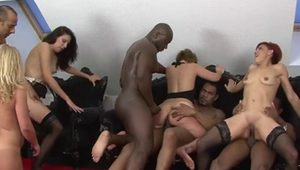 Anal ramming by a big black cock