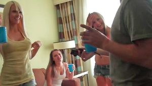Group sex with gorgeous women in a hotel room