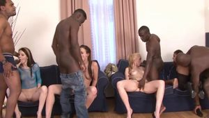 Kinky Orgy Session with Slutty Babes
