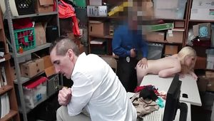Office and fake police threesome Attempted Thieft