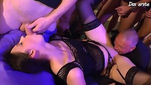 Hot party turned into a naughty orgy HD