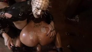 HORRORPORN - DEMONIC BUSTY PINHEAD