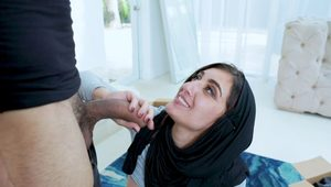 Submissived - Submissive Ethnic Chick Fucked in Hijab